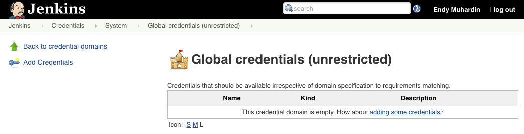 Global Credentials
