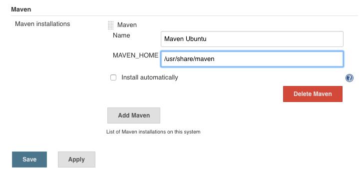 Input Maven