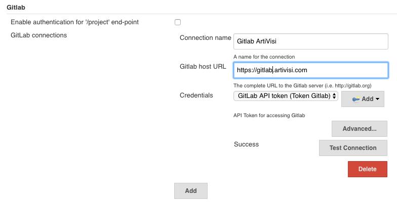 Mengakses Gitlab API di Jenkins