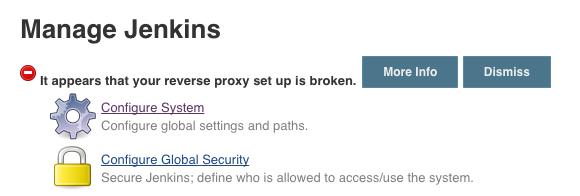 Reverse Proxy Broken