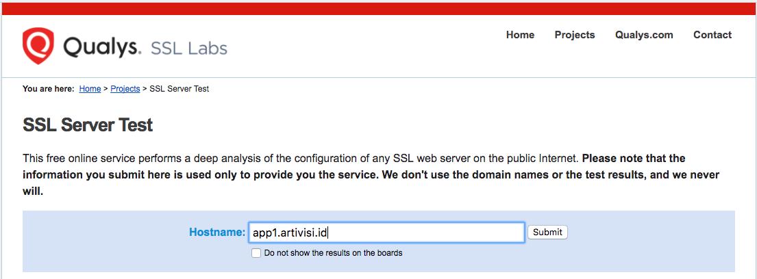 SSL Labs Homepage