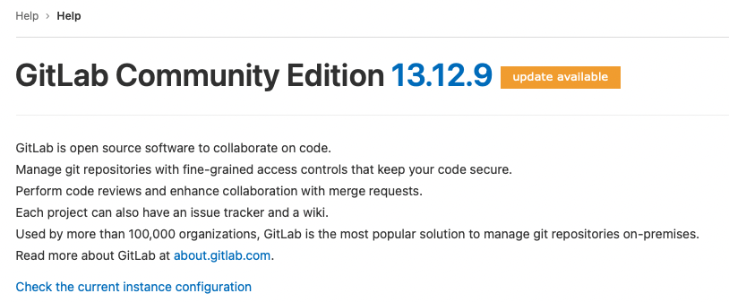 Versi Gitlab