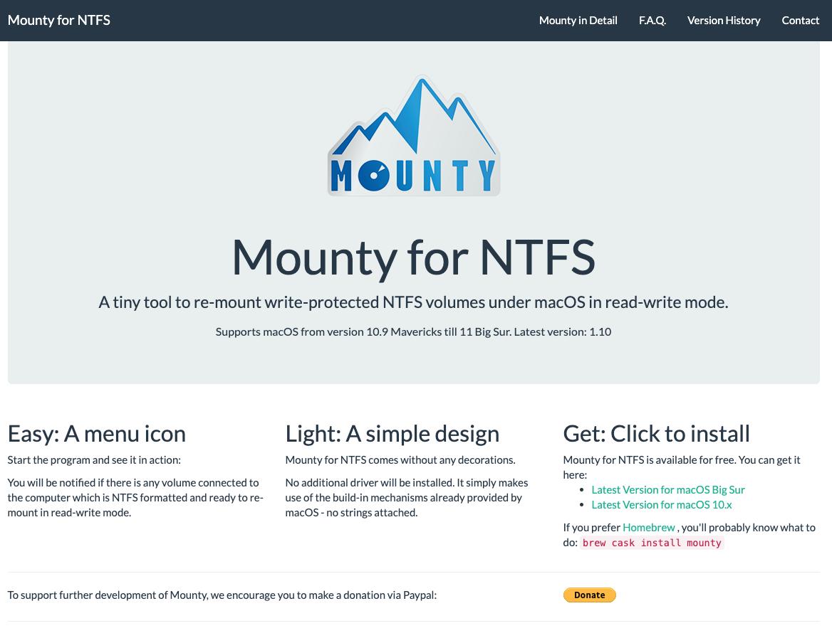 Mounty App